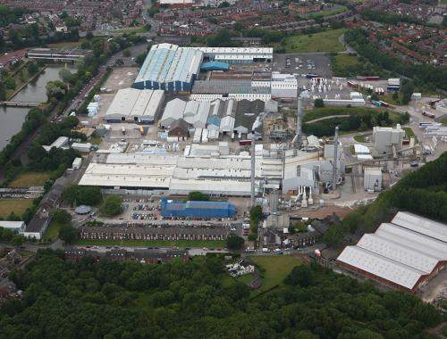 St Helens Glass Mineral Wool Plant Head Office
