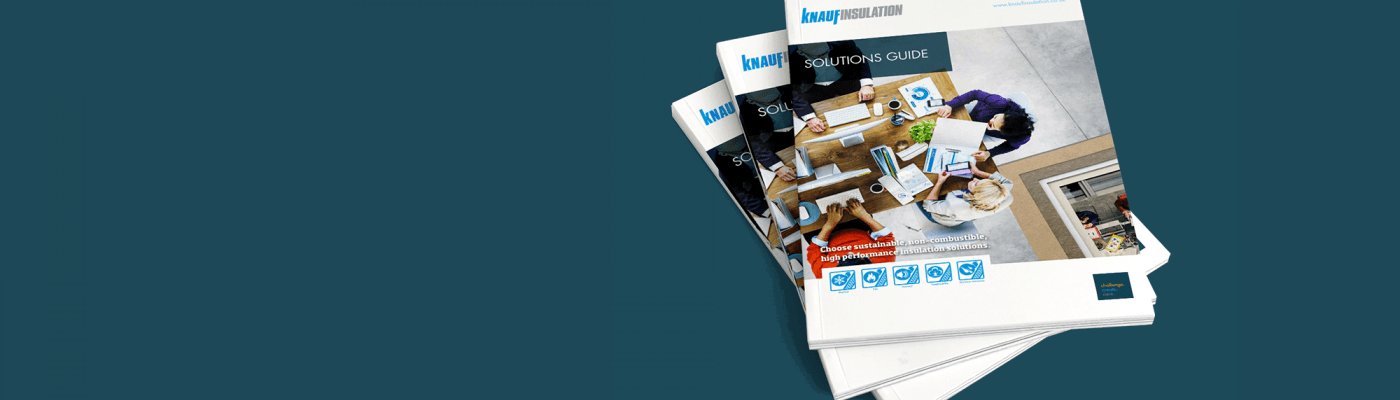 Knauf Insulation UK Solutions Guide Banner