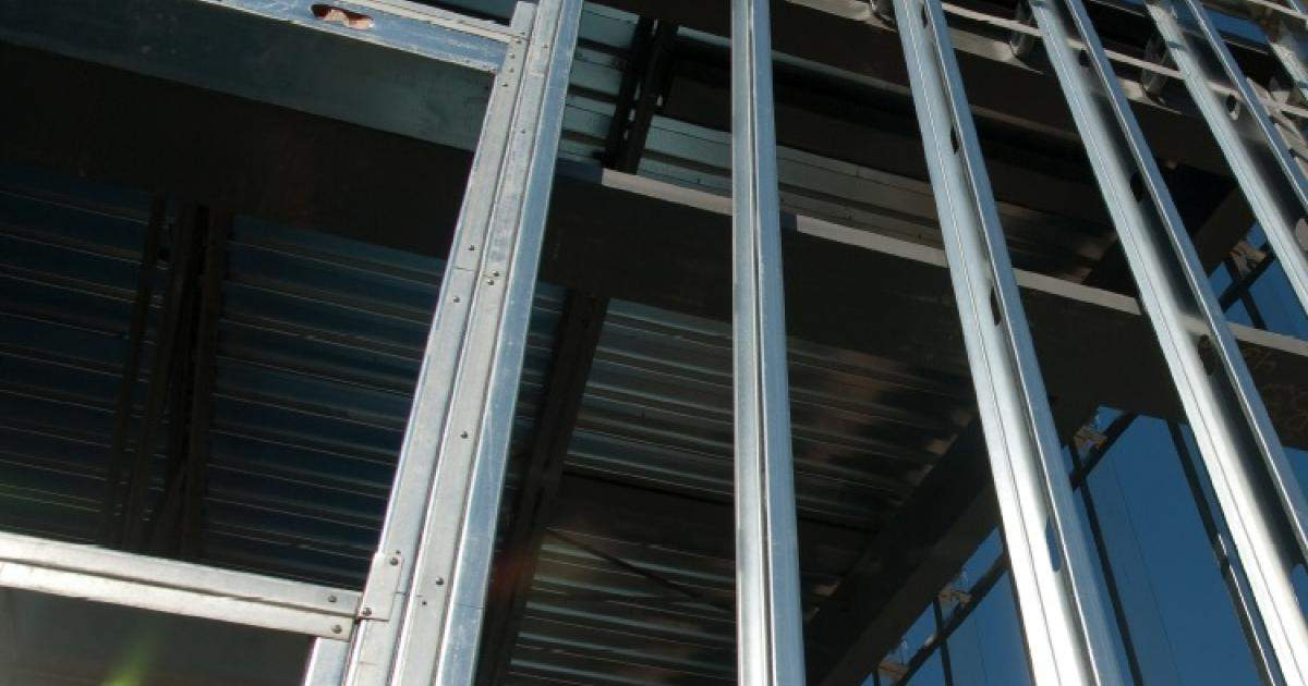 Light steel frame walls - Insulation Boards for Steel Stud Frame Walls