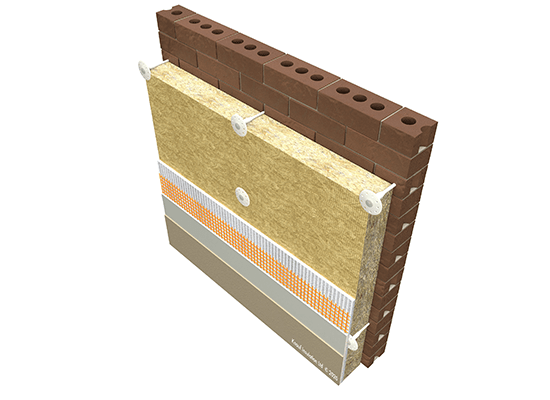 Knauf Insulation EWI Rock Mineral Wool