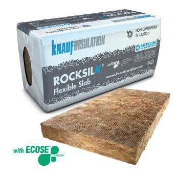 Rock Mineral Wool - Multi-Application - Knauf Insulation Rocksilk® Flexible Slab