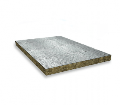 Rock Mineral Wool - HVAC Boards - Thermo-teK BD 060 Alu