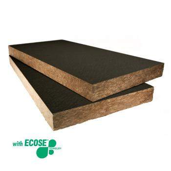 Rock Mineral Wool - Exposed soffit floors - Knauf Insulation Rocksilk® Soffit Linerboard Standard