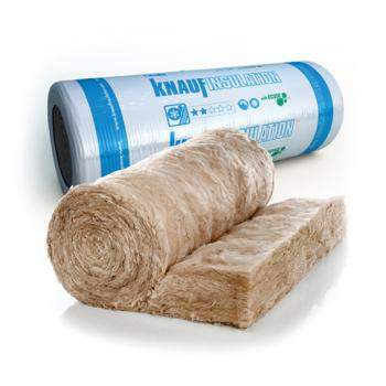 Glass Mineral Wool - Pitched roofs at ceiling level - Earthwool Loft Roll 44