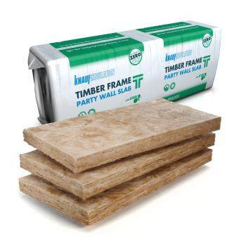 Glass Mineral Wool - Party separating walls - Earthwool Timber Frame Party Wall Slab