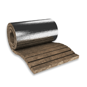 Rock Mineral Wool - HVAC Mats - Thermo-teK LM Eco Alu