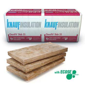Glass Mineral Wool - Multi-Application - Knauf Insulation OmniFit® Slab 35